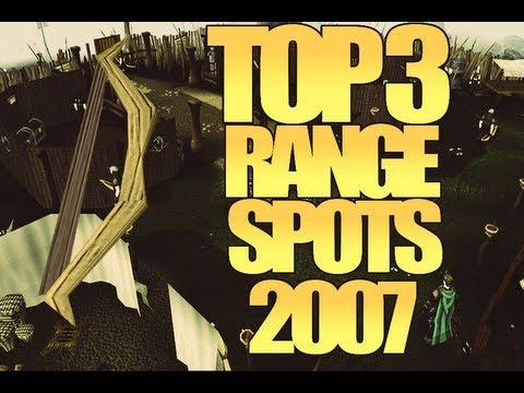 Runescape 2007 | 3 Epic Range Training Spots 2013 | Linedfury
