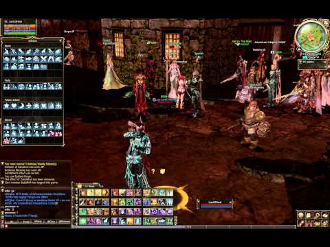 Lineage II - Violin Danicing  - LordOfHeal (Naia server)
