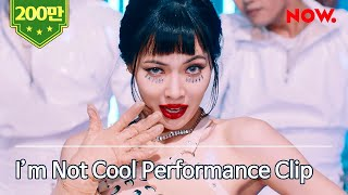 I'm Not Cool - HyA현아 Performance   NAVER NOW. Edition