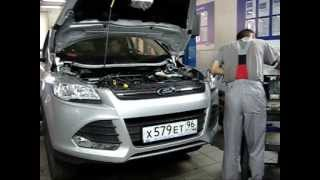 Ford Kuga NEW 2013 тест-драйв. Болты в турбине. Air intake bolts, Елабуга рулит