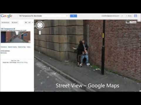 Street View -- Google Maps Sexy Photo video