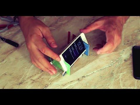 Как сделать телефон своими руками из подручных материалов 995