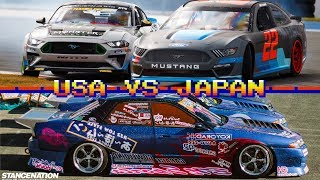 USA VS Japan drifting - Whats the difference by Japanese pro drifter