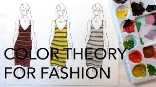 Color Theory for Fashion: Split-Complementary Color Schemes