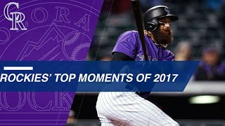 A look back at the Rockies' top moments of 2017