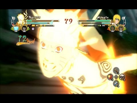 (Free PS3 Neon Alley DLC Code) Naruto (Me) vs Minato (Girlfriend) Naruto Ultimate Ninja Storm 3