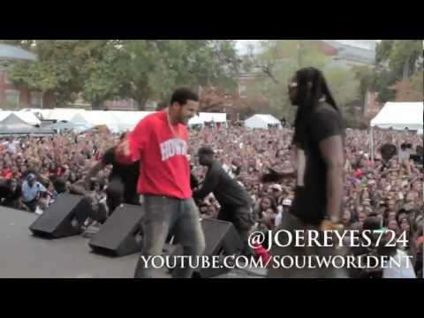 Drake at Howard University Homecoming 2012 [Drake, 2 Chainz, TI, Meek Mill, AJ from 106 & Park +]