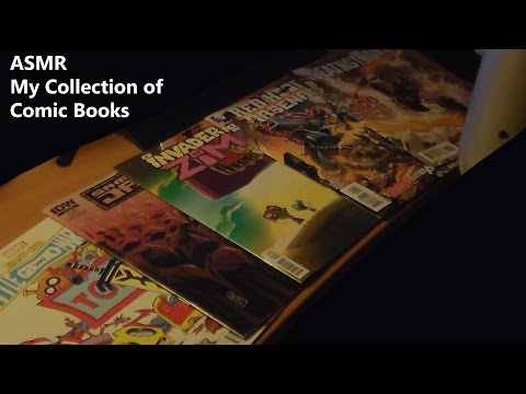 [ASMR] My Collection of Comic Books!
