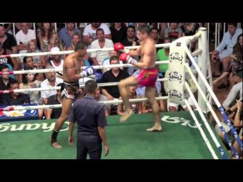 Damien Alamos vs Laemtong Tor Ponchai @ Bangla Boxing Stadium 4/1/2013