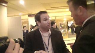 YAF Chris Bedford confronted over Ron Paul purge CPAC 2011