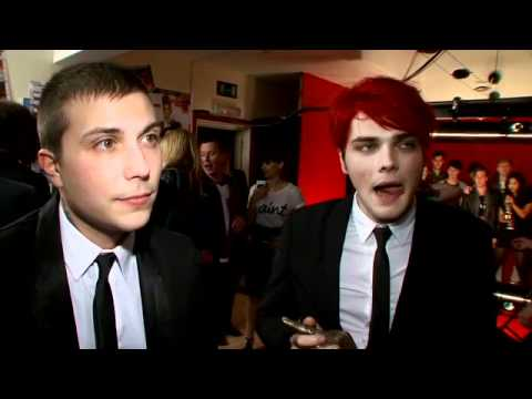 My Chemical Romance at the Shockwaves NME Awards 2011