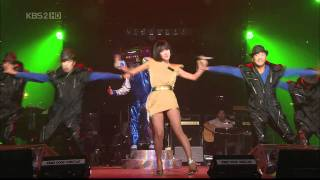 [HD] Uhm Jung Hwa - DISCO Live Feat.Top , YD Letter 080712