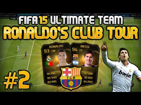 FIFA 15 - Ronaldo's Club Tour #2 - FC Barcelona
