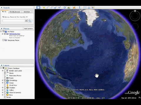 Google Earth Easter Eggs - Meliza + Flight Mode
