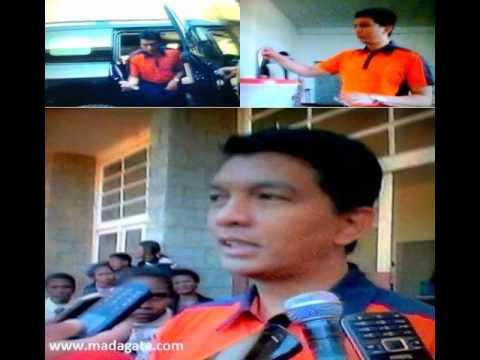 Andry Rajoelina avy nifidy 31 Jolay 2015