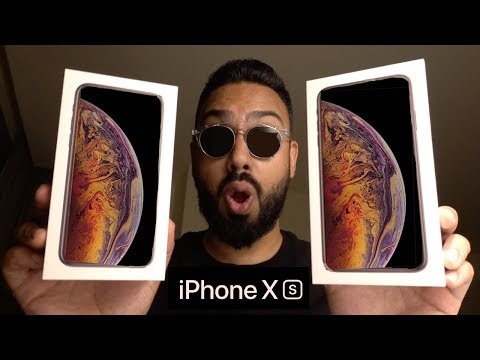 iPhone Xs and iPhone Xs Max UNBOXING