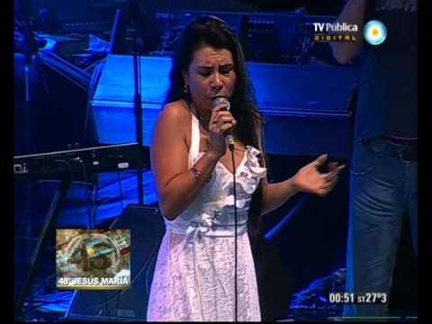 Festival Jes ús María - Octava noche - Sonia Vega - 11-01-13