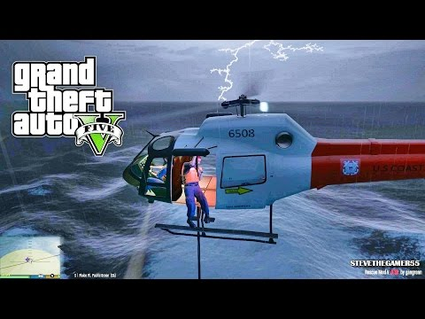 GTA 5 - Rescue Mod V - COAST GUARD - (GTA 5 Rescue Mod PC MODS)