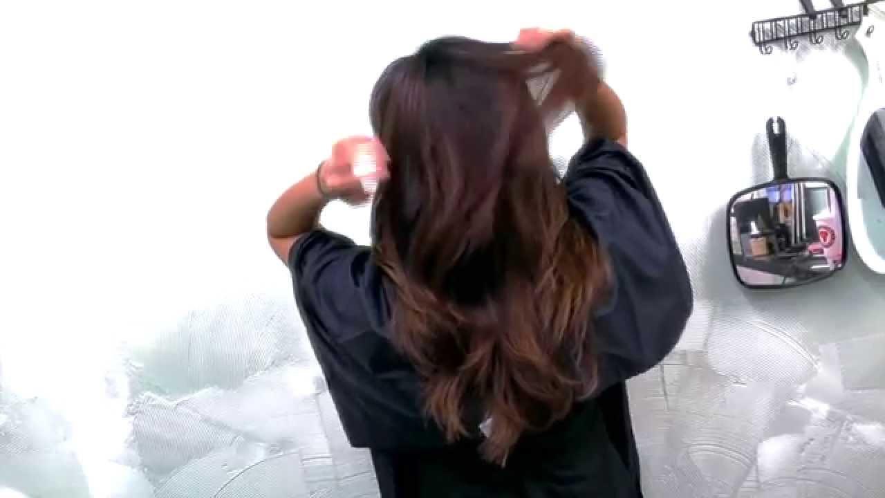 Nam Nguyen Subtle Bayalage Ombre On Corse Asian Hair
