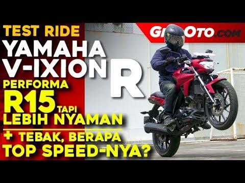Yamaha V-Ixion R 2018 l Test Ride Review l GridOto