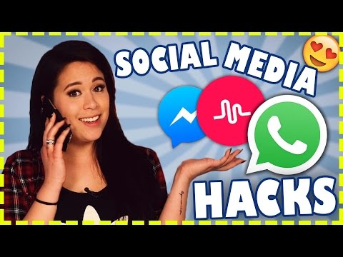 Whatsapp & Co. HACKS | Social Media Hacks | Life Is Chaos