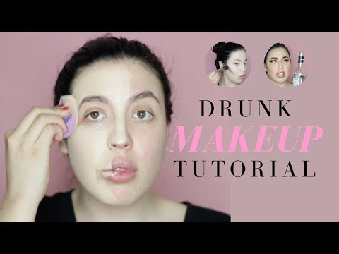 Drunk Makeup Tutorial | Full Face Makeup | Solange Nicole