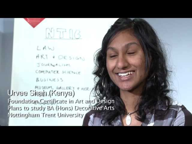 Library facilities at Nottingham Trent International College - student testimonial