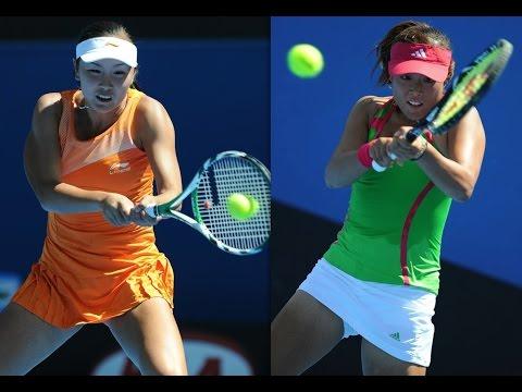 Shuai Peng vs Ayumi Morita 2011 AO Highlights