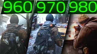 THE DIVISION GTX 960 vs GTX 970 vs GTX 980 ALL MAXED OUT