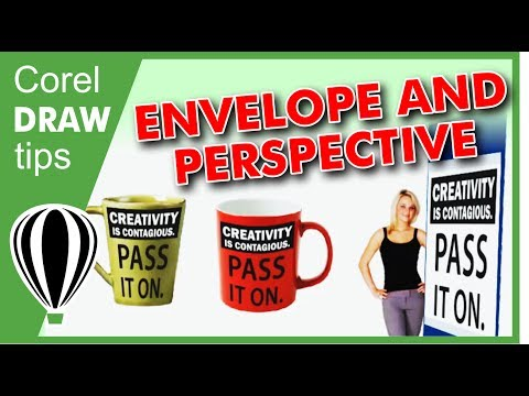 Using Envelope tool in CorelDraw
