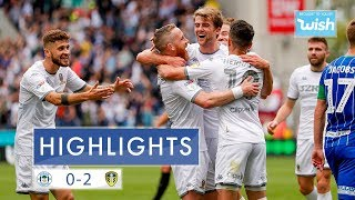 Highlights | Wigan Athletic 0-2 Leeds United | EFL Championship