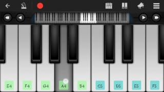 Onek Sadhonar Pore Ami -Perfect Piano Tutorial