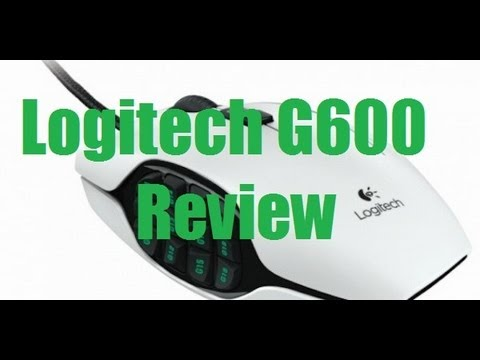 Logitech G600 MMO Gaming Mouse Review Vs Razer Naga