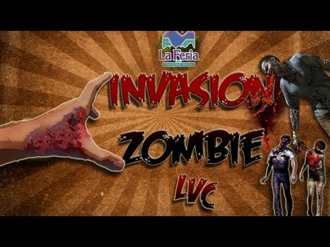 !INVASION ZOMBIE¡ Feria de Chapultepec