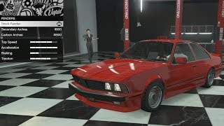 GTA 5 - DLC Vehicle Customization - Ubermacht Zion Classic (BMW M6) and Review