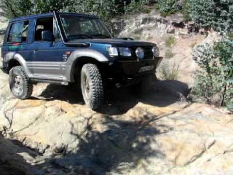 Hyundai Galloper - Rock Crawling - Carnaxide