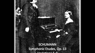 Anne Koscielny, Part 10b: Schumann, Symphonic Etudes, Op. 13 (Variations 5-9).
