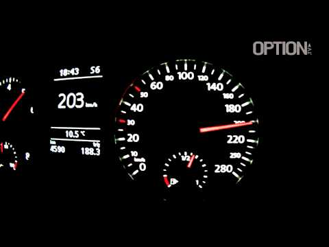224 km/h en Volkswagen Polo GTI (Option Auto)