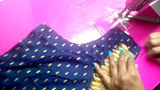 Dress TOP cutting and stitching
