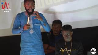 Woli Arole Prays for Kenny Blaq @ Kenny Blaq's Fans Hangout II
