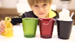 How To Make Gummy Cups - Glasses