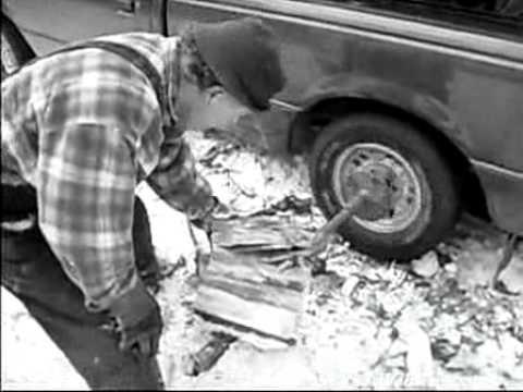 Pomôcka na štiepanie dreva