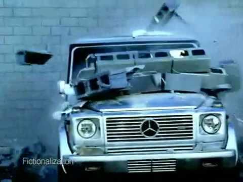 Откуда УАЗ стырил идею или реклама Mercedes Benz G-Class
