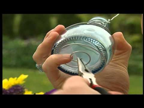 Flaschenvasen DIY | Deko Tipp Für Heim Und Garten