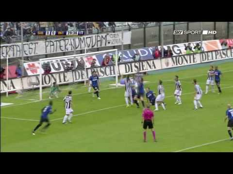 Serie A: Siena 0-1 Inter Sky Highlights