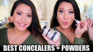BEST CONCEALERS + POWDERS OF 2018!