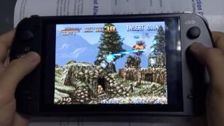 [04 Metal Slug 1 FBA MAME Video Game on JXD S7800B handheld g...] Video