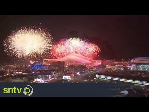 Firework display ends Olympic opening ceremony | Sochi 2014