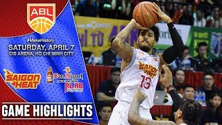 Saigon Heat vs San Miguel Alab Pilipinas | GAME HIGHLIGHTS | 2017-2018 ASEAN Basketball League