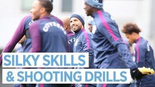 SILKY SKILLS & SHOOTING DRILLS | Man City Training